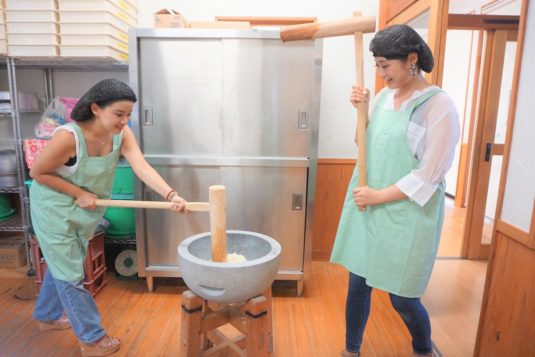 かんころ餅作り体験-1