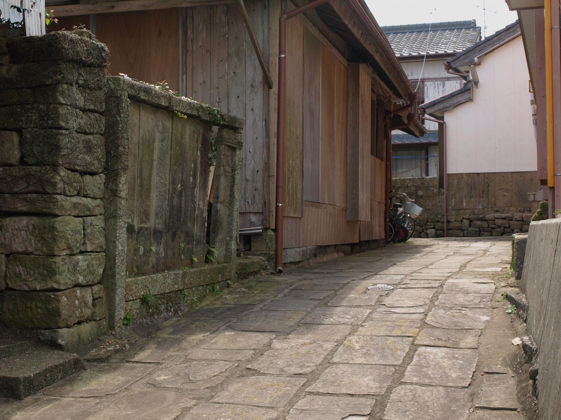 崎浦の五島石集落景観 (重要文化的景観)-1