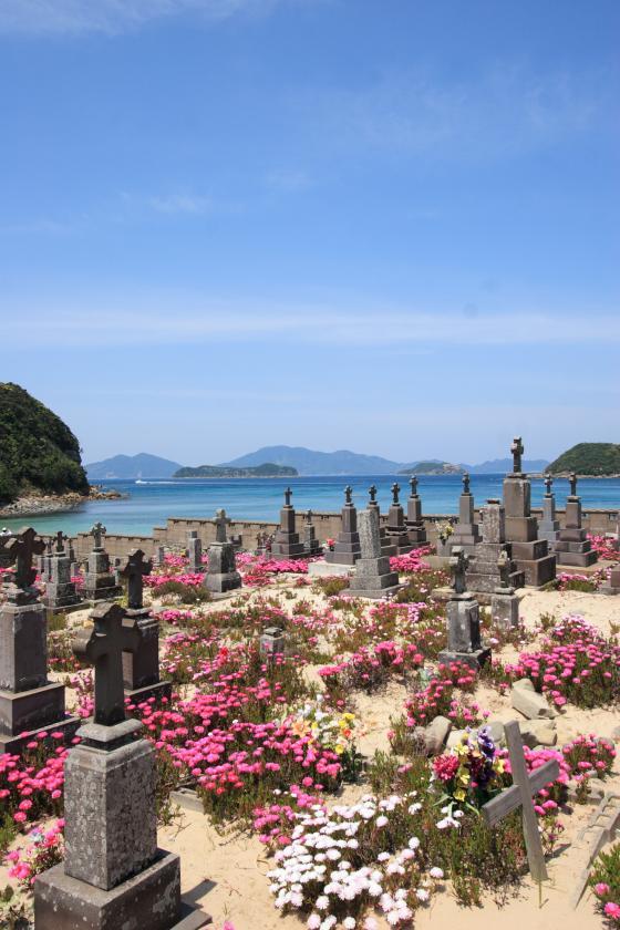キリシタン墓地 (頭ヶ島の集落)-0