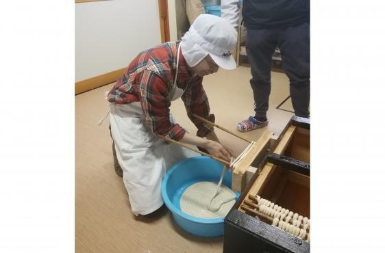 五島手延うどん作り体験-1