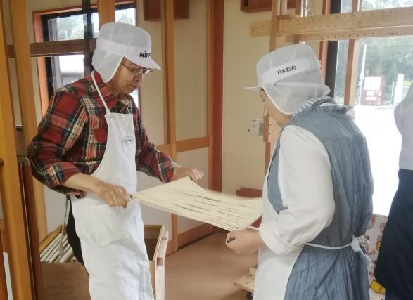 五島手延うどん作り体験-2