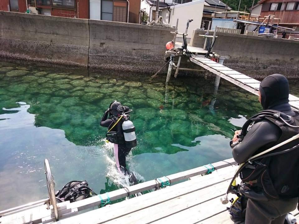 体験ダイビング-1