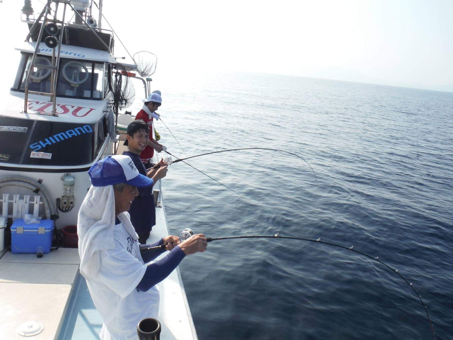 船釣り体験-1