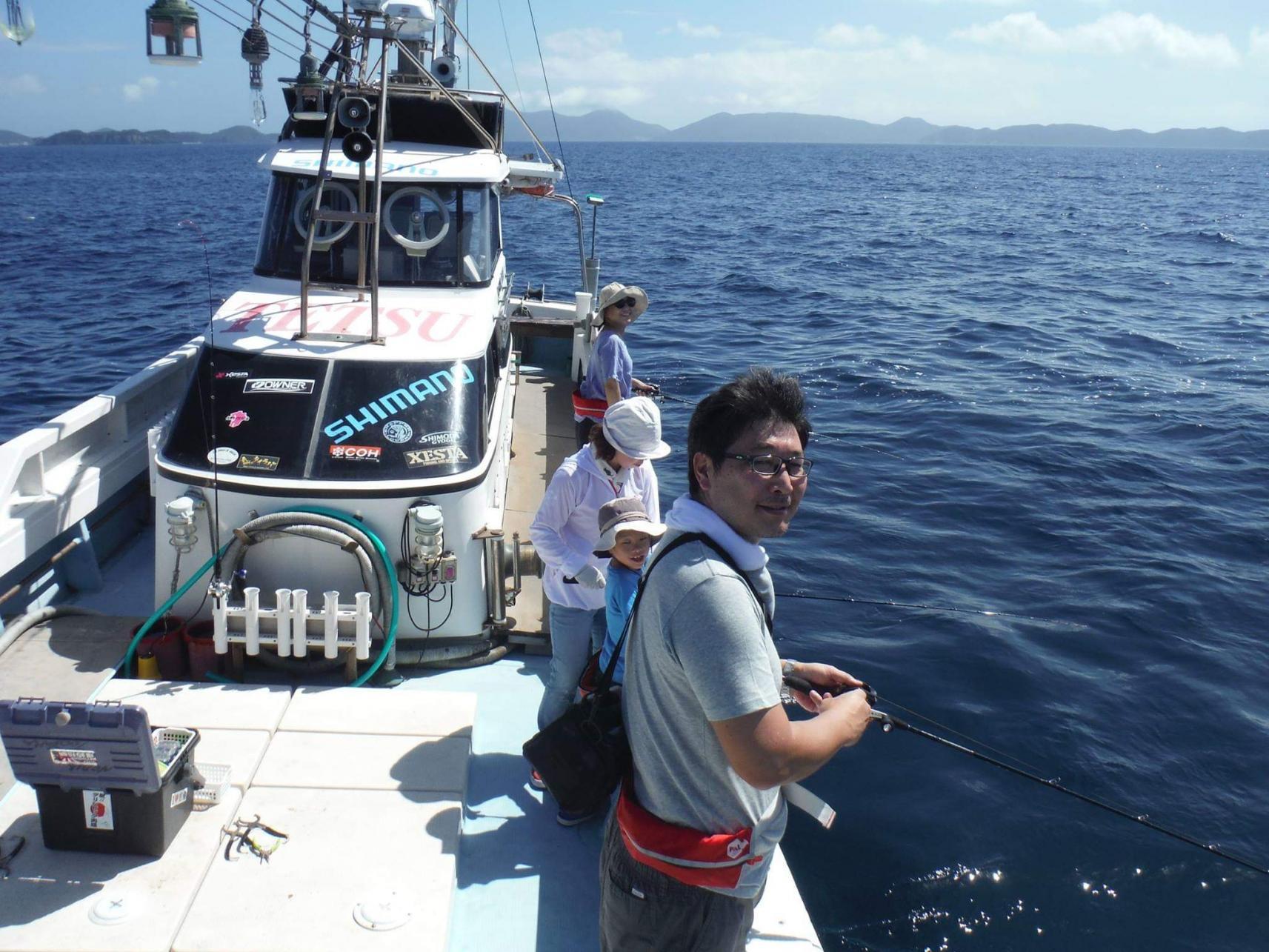 船釣り体験-4