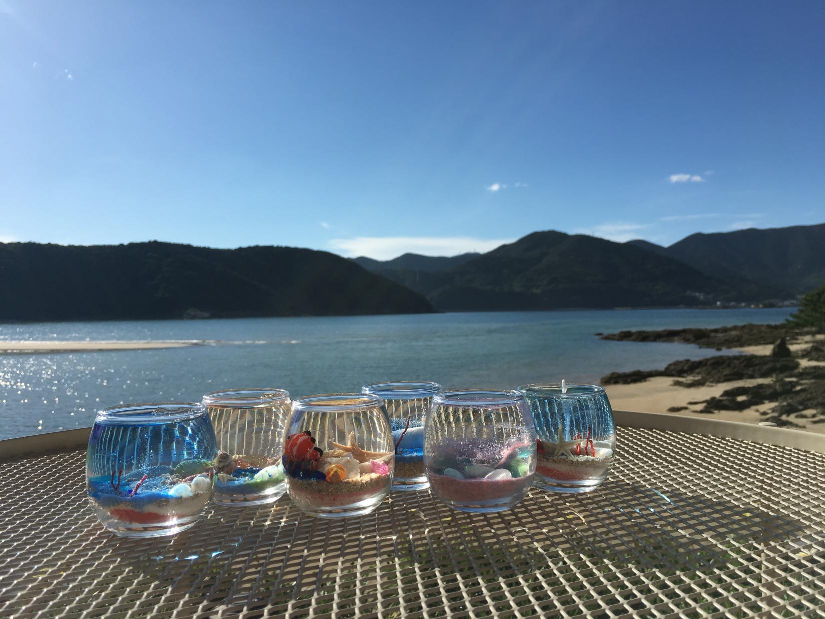 島キャンドル作り体験-1