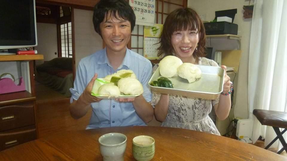 お団子・ふくれまんじゅう作り-1