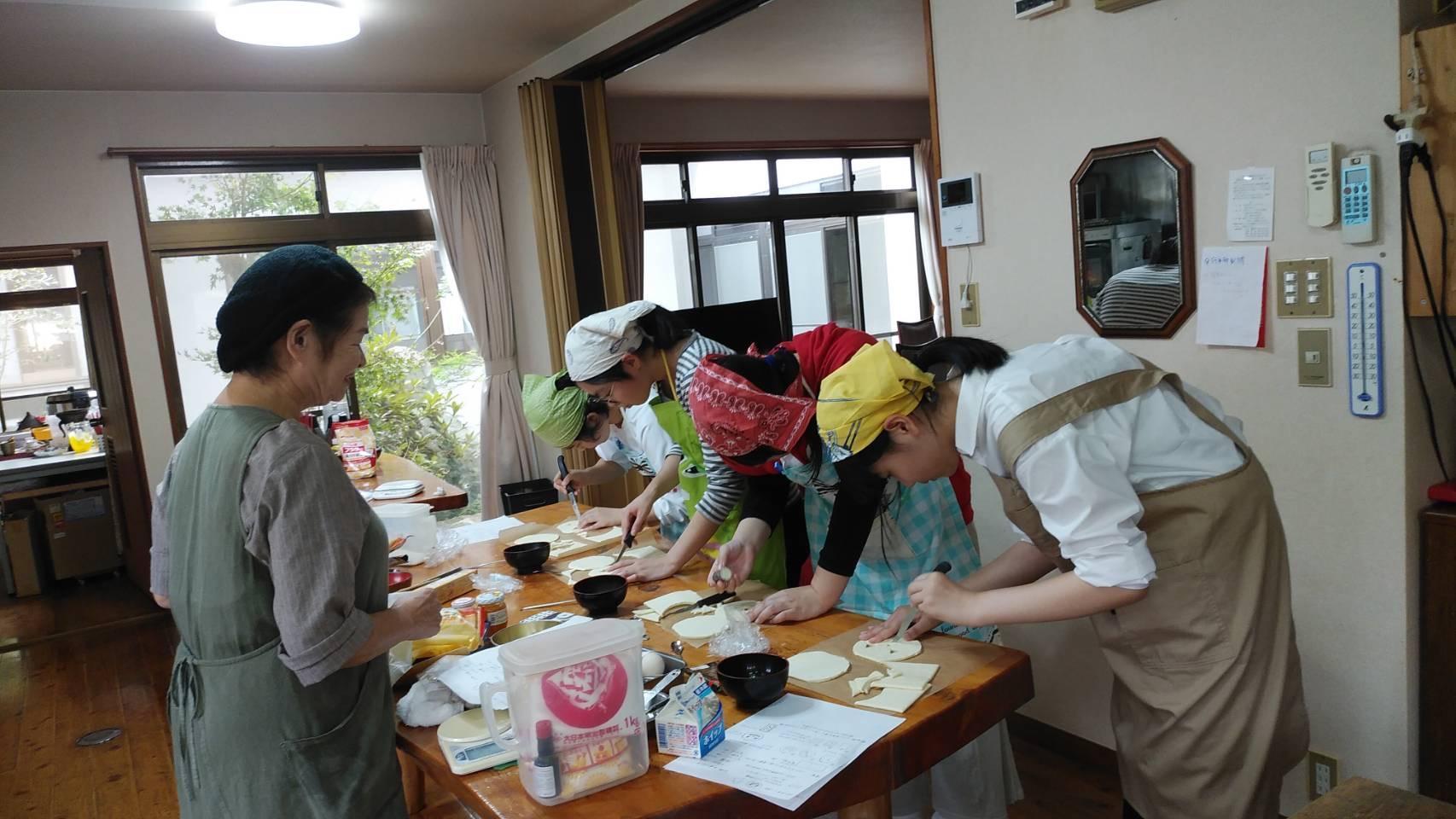 ケーキ作り-1