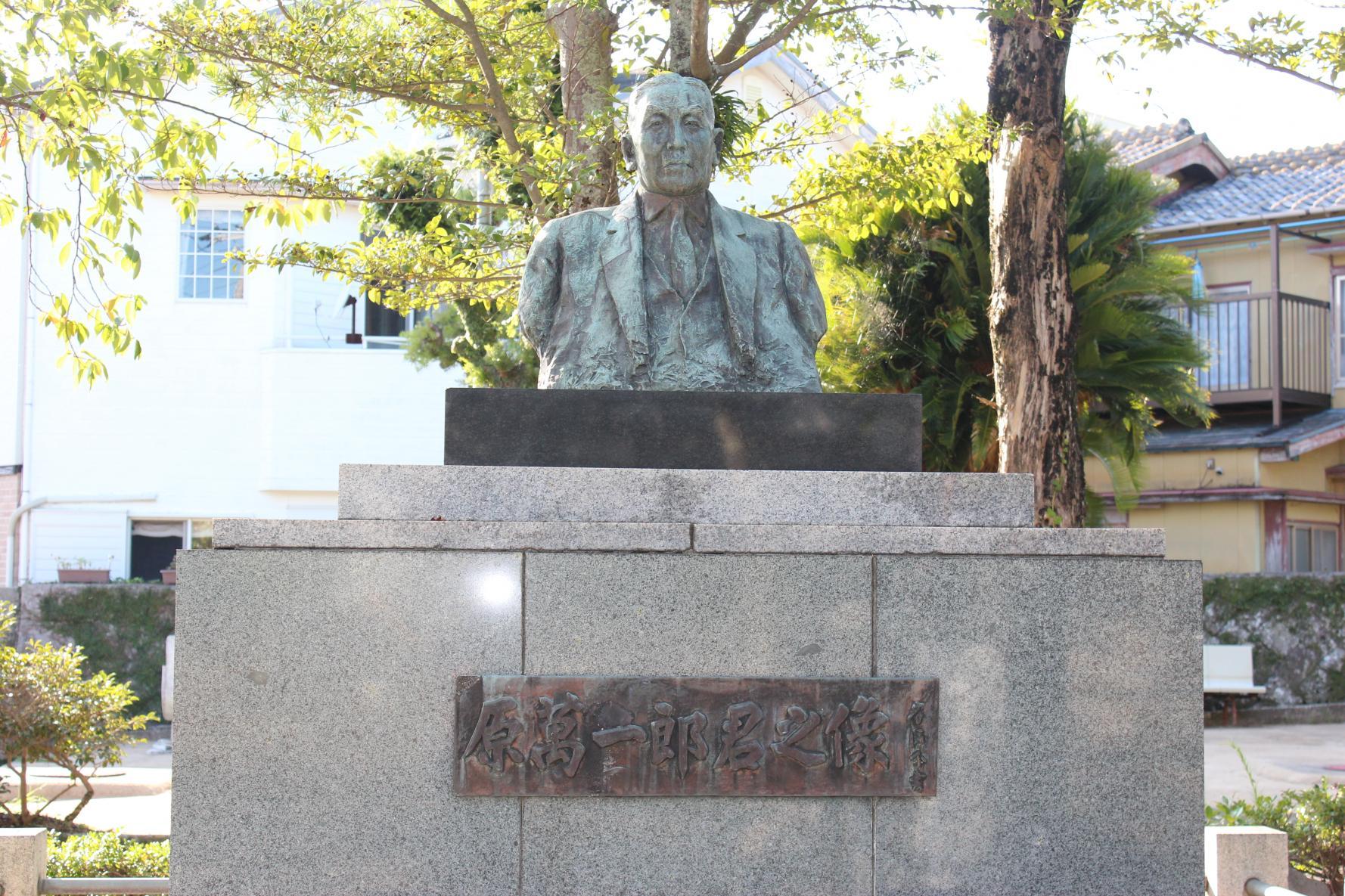 原氏父子の像-1