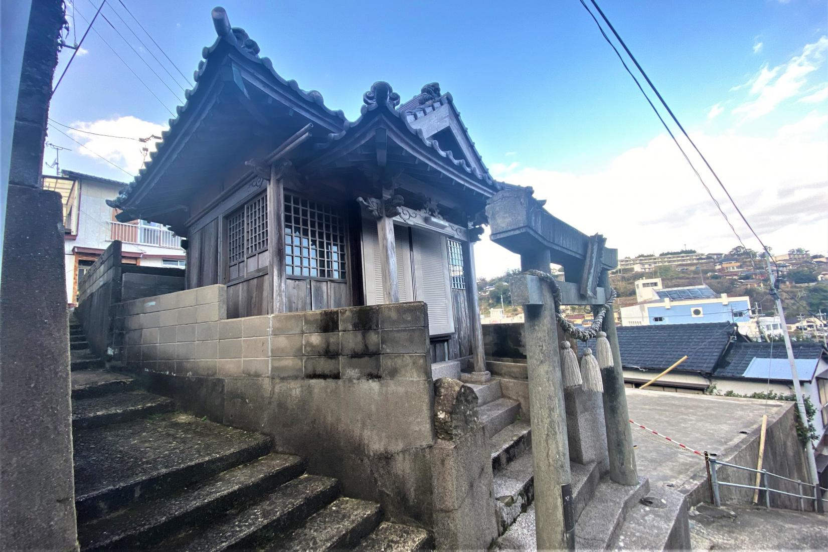猿田彦神社【奈良尾】-1